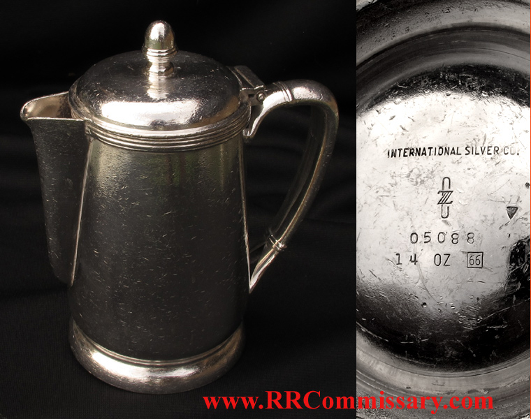 ' ' from the web at 'http://www.rrcommissary.com/CZsilvcoffeepot10205.jpg'